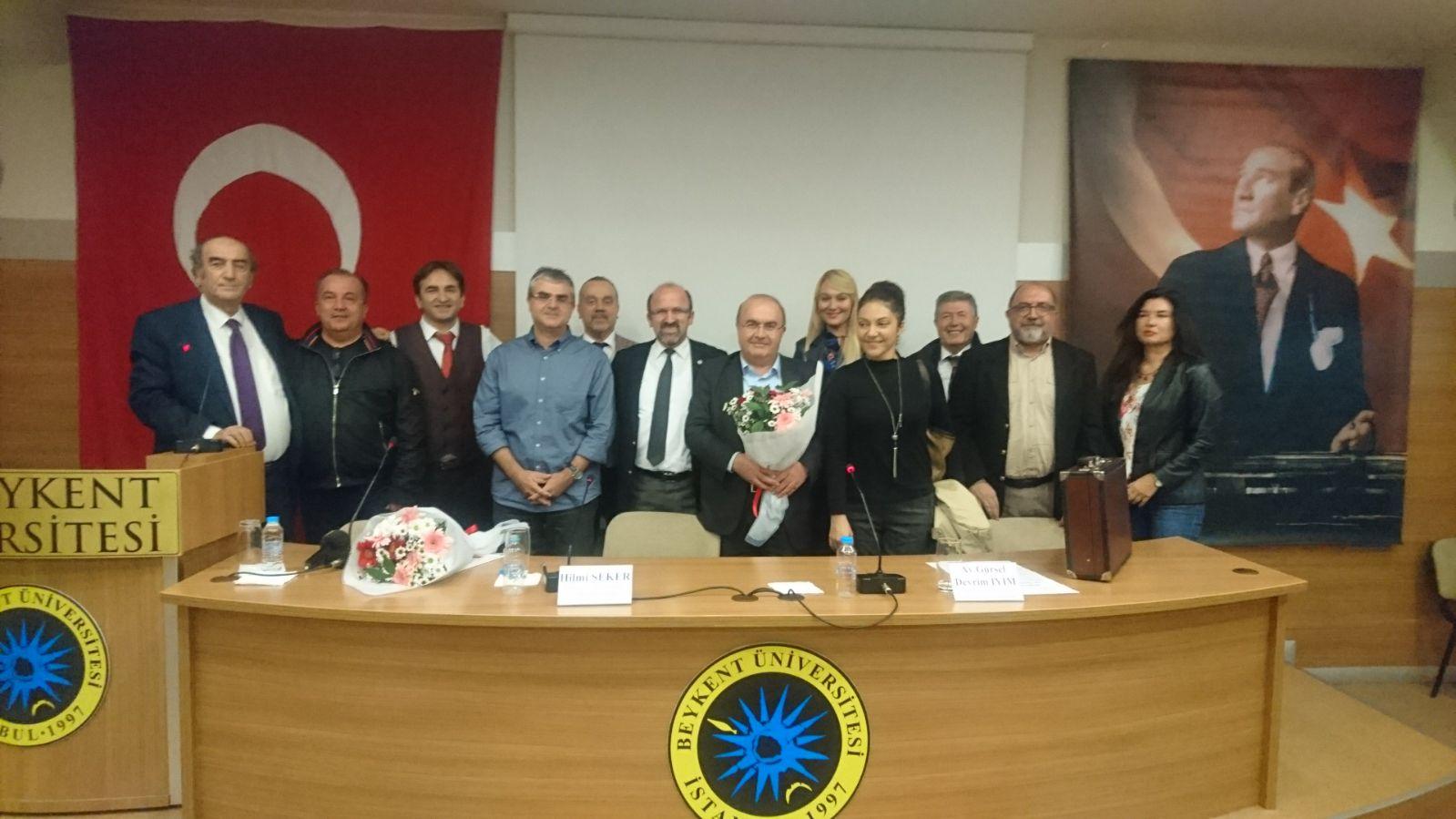 Hilmi Şeker- İstanbul Barosu Hukuk Felsefesi ve Sosyolojisi Komisyonu